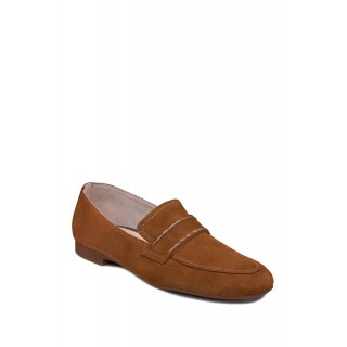 PAUL GREEN Women Suede Loafer CARAMEL SUEDE Going Out For Sale JF3677001
